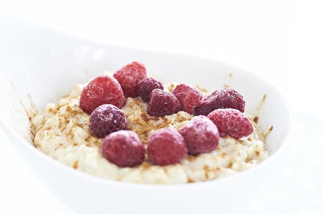 Porridge Himmbeeren