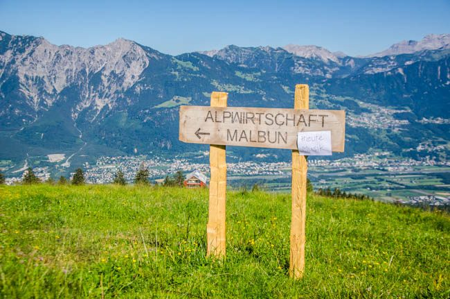 Alp Malbun 1. August-2550