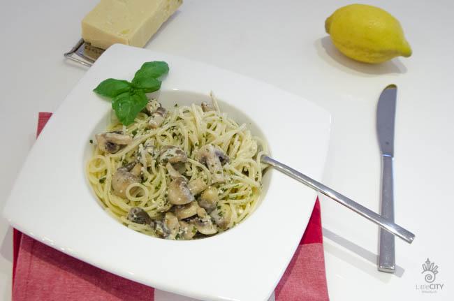 Spaghetti Pilz-Rahm Sauce_Rezepte_ws-2737
