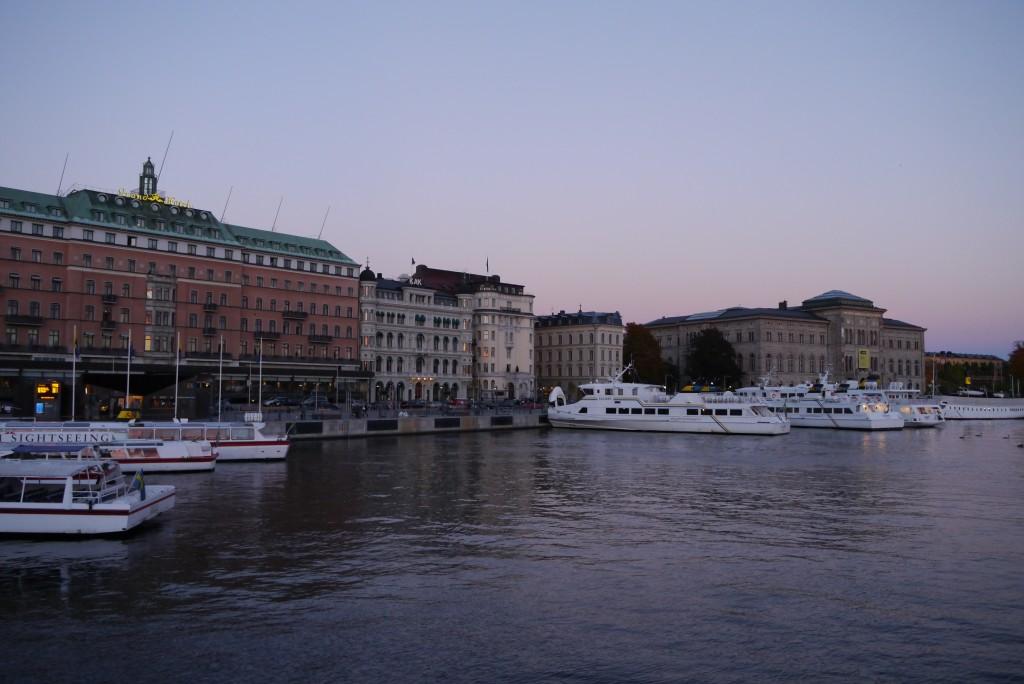 Stockholm Herbst