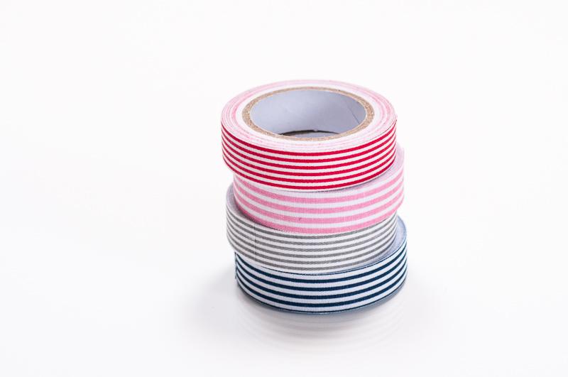Fabric Masking Tape gestreift