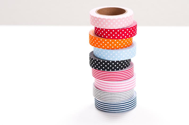 Fabric Masking Tape gepunktet Shop