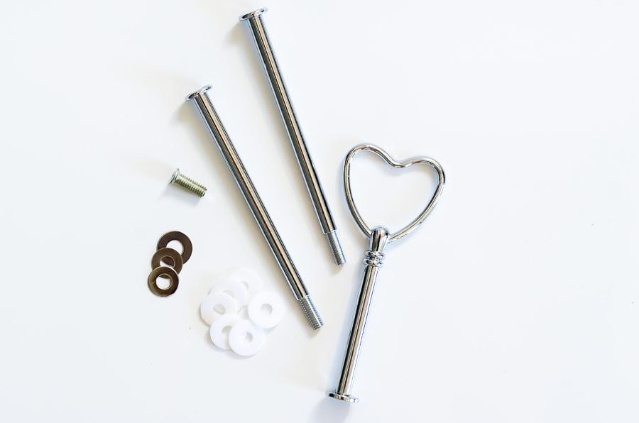 Etagère Stangen Herz Silber900 (1 von 1)