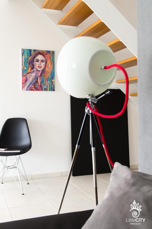 DIY Lampe Salatschüssel Stativ_6-3