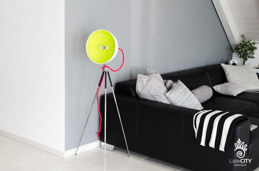 DIY Lampe Salatschüssel Stativ_9-6