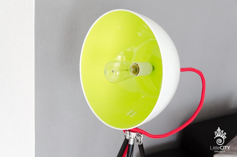 DIY Lampe Salatschüssel Stativ_9