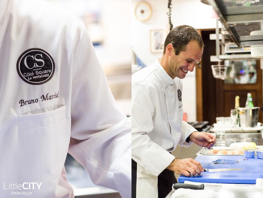 Bruno Marchal Restaurant Chef Coté Square Genf