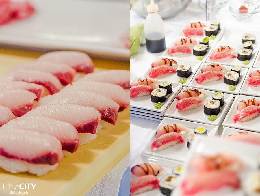 Oishi Japan_Sushi mit Kobe Beef