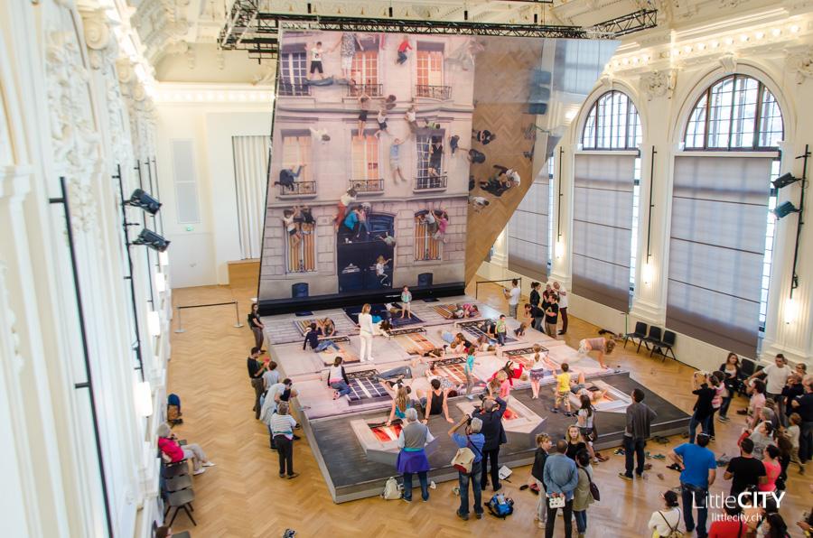 Vevey Festival d'Images Haus mit Spiegel