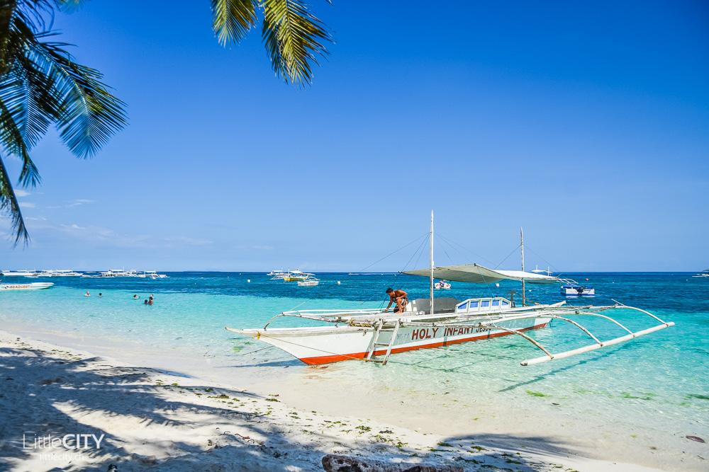 Bohol Panglao Alona Beach Boote