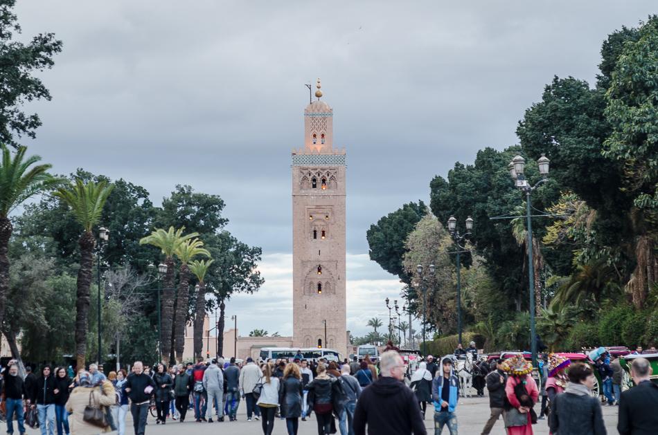 Marrakesch_ Moschee Ben Youssef