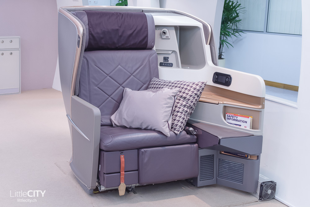 Singapore Airlines First Class Seat New Generation