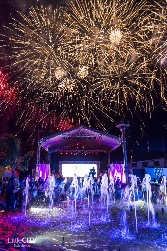 Madrid Fusion Manila 2015 Party with fireworks