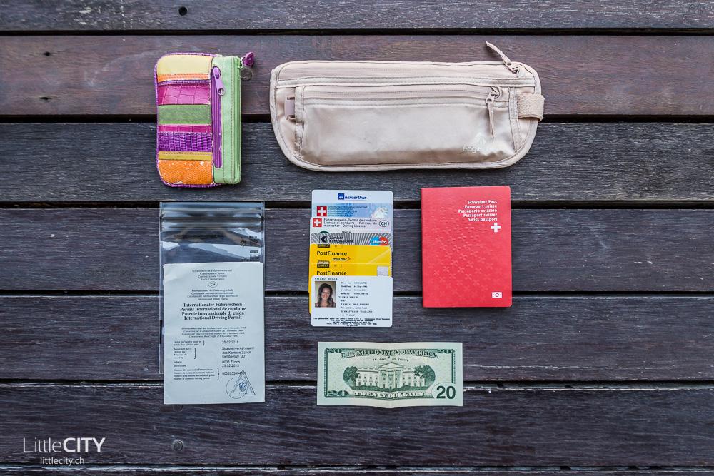 Packliste Weltreise Dokumente