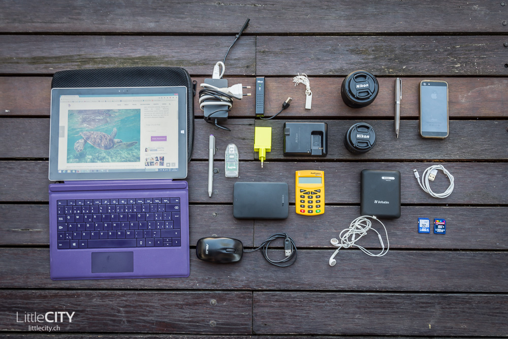 Packliste Weltreise Technik Reiseblog