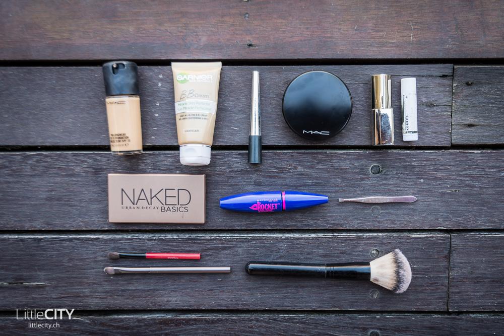 Packliste Weltreise Kosmetik