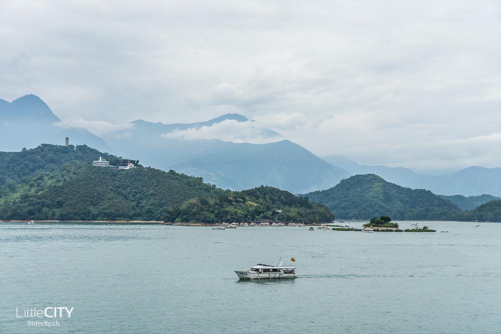 Sun Moon Lake Taiwan Roadtrip Camper Van