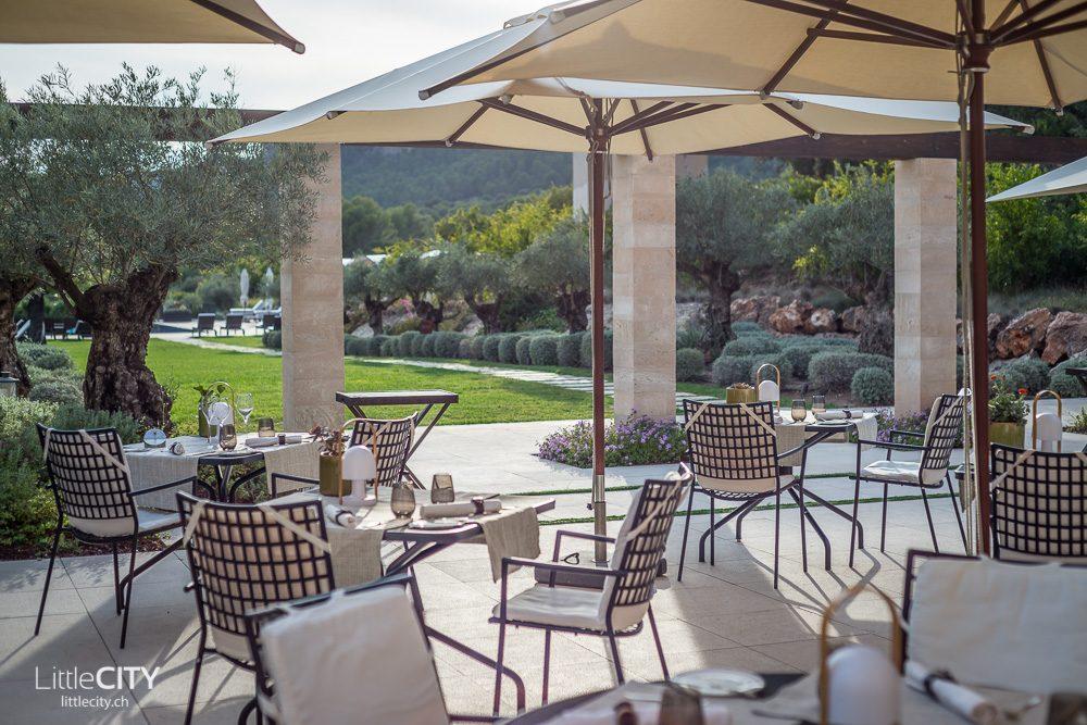 Castell Son Clarent Restaurant Olivera