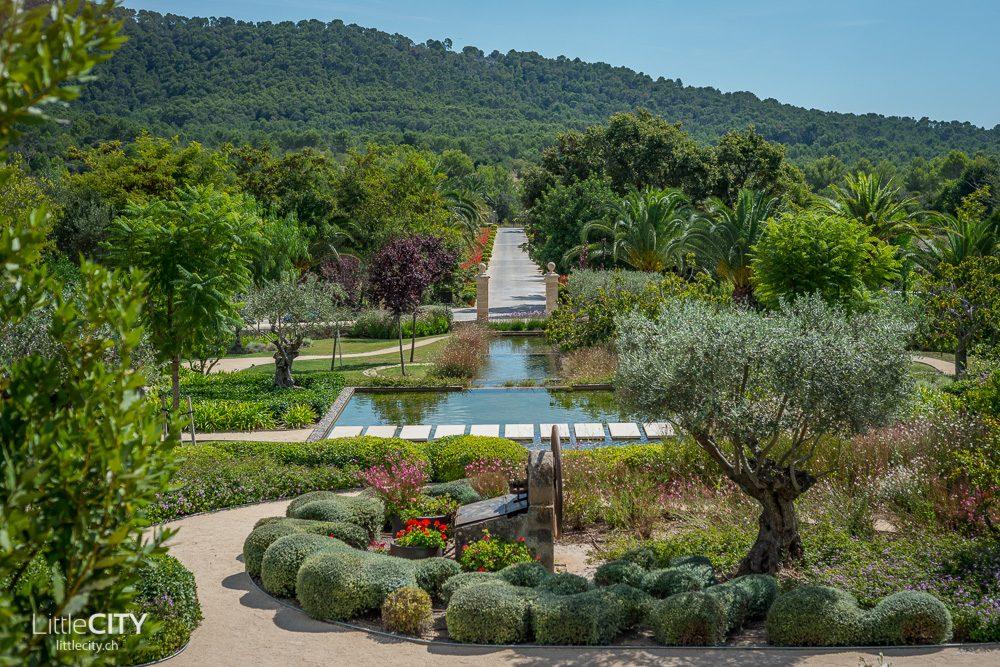 Castell Son Clarent Mallorca marrokanischer Garten