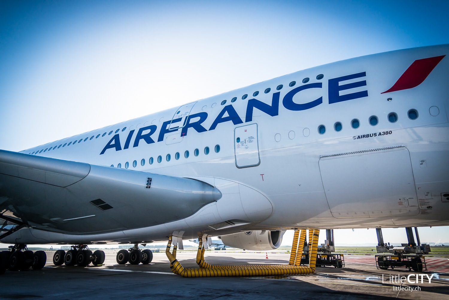 Air France A380 - Backstage Charles de Gaulle Paris