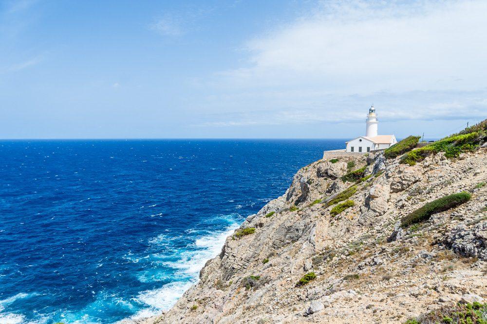 Mallorca Reisetipps: Far Cala Rajada Leuchtturm