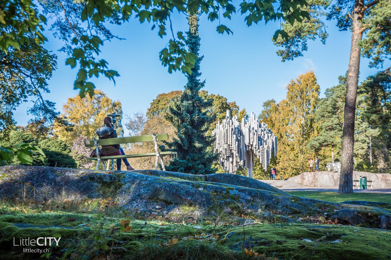 Helsinki Sibelius Park und Monument