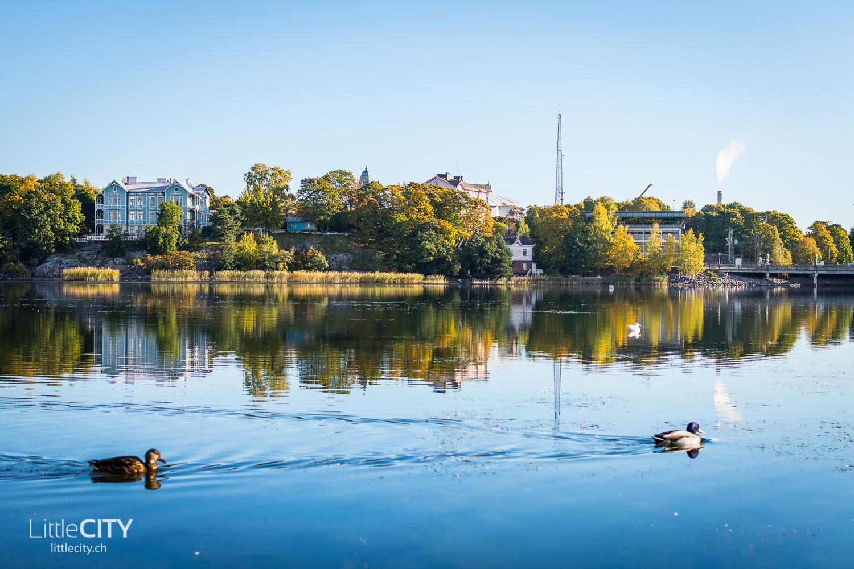 Helsinki Städtetrip Lake