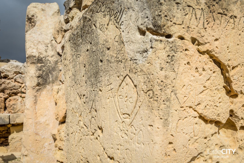 Gozo Malta hystprische Graffiti Reisetipps