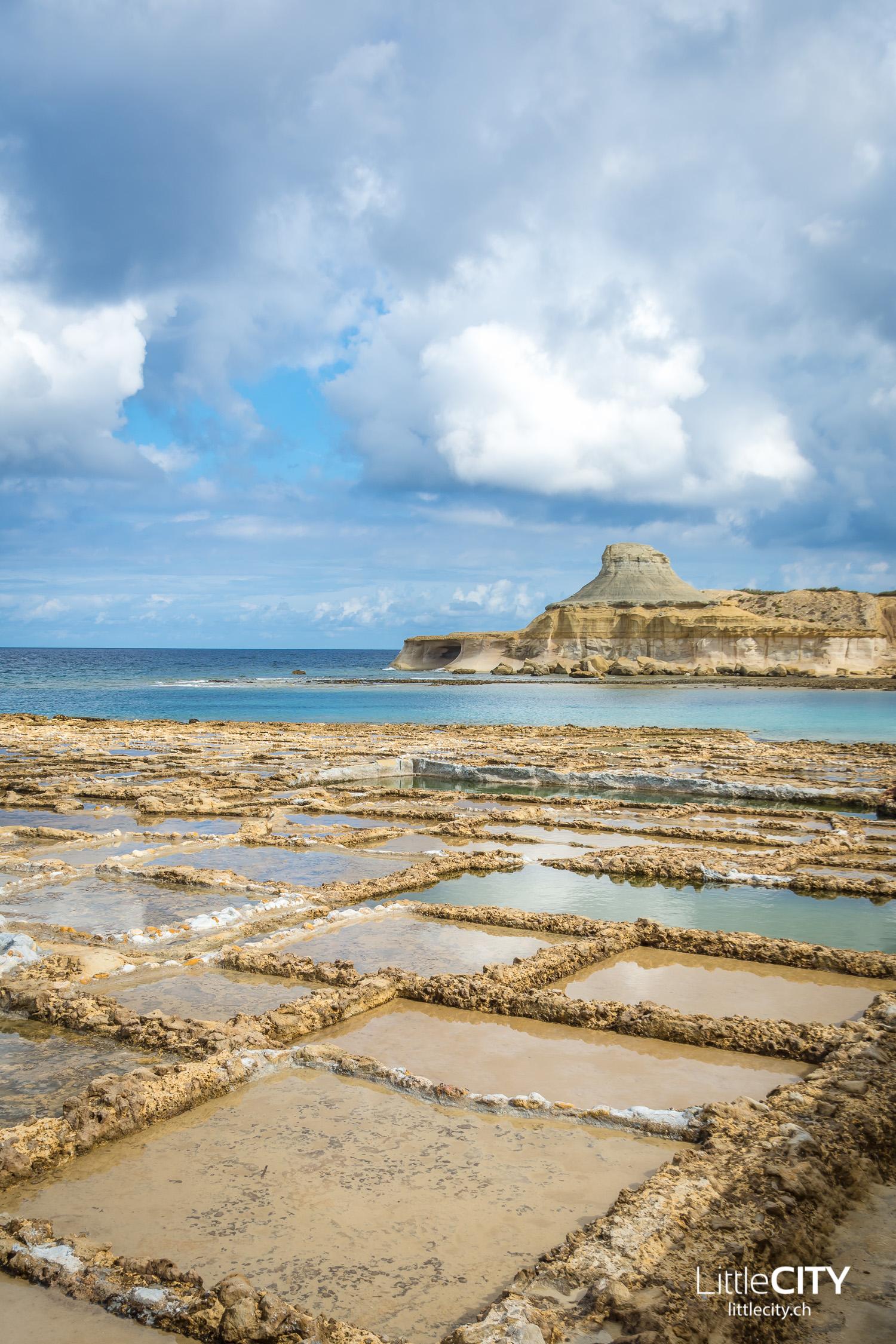 Gozo Salz Pfannen Malta Reisetipps
