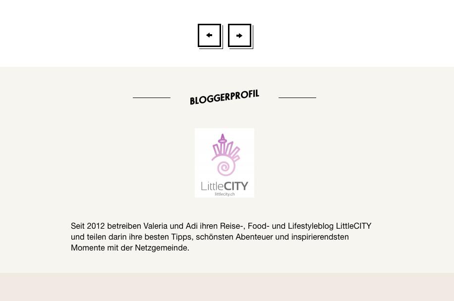 20 Minuten Friday Blogerprofil