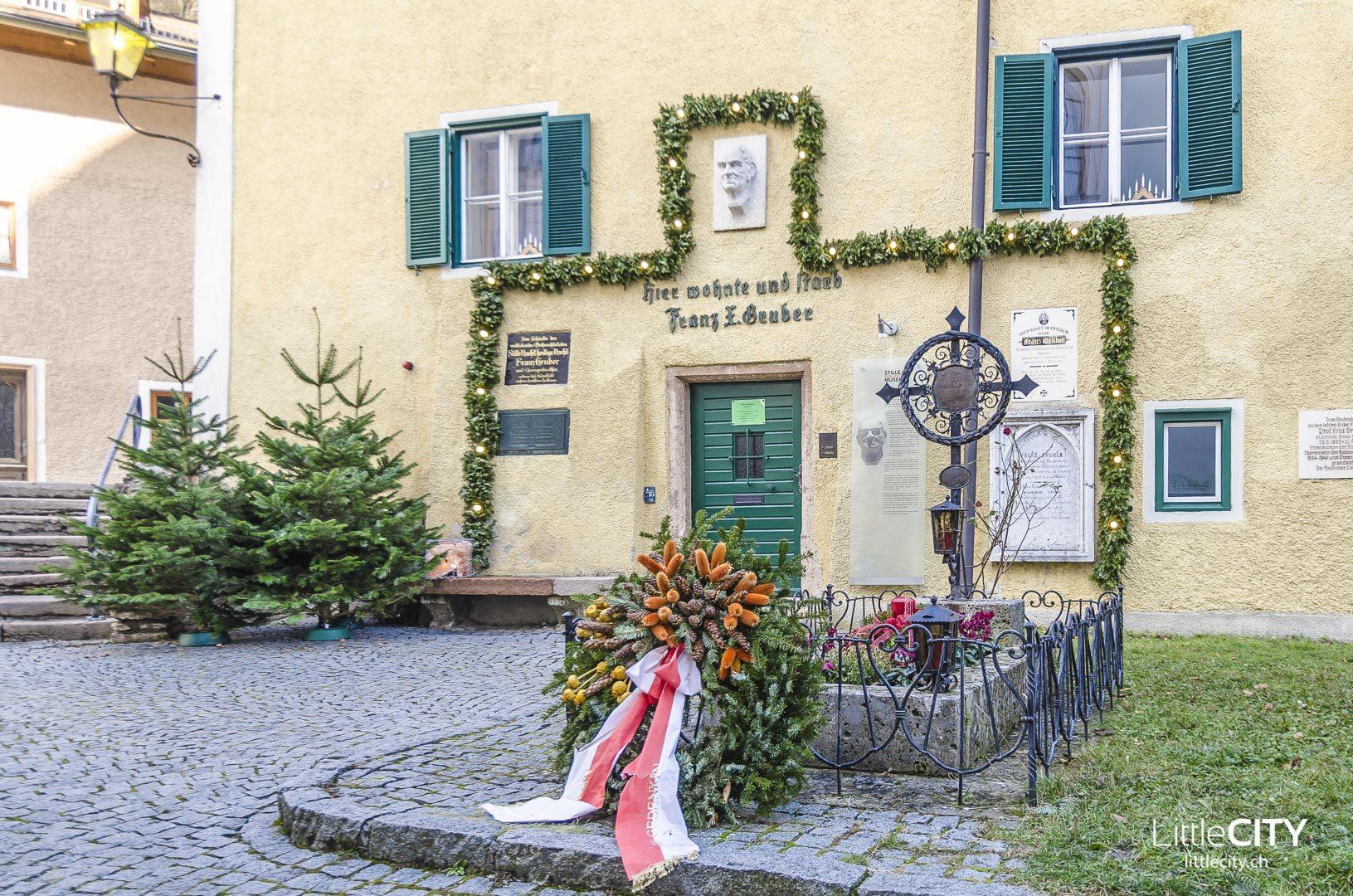 Hallein Stille Nacht Museum Grab Franz Xaver Gruber
