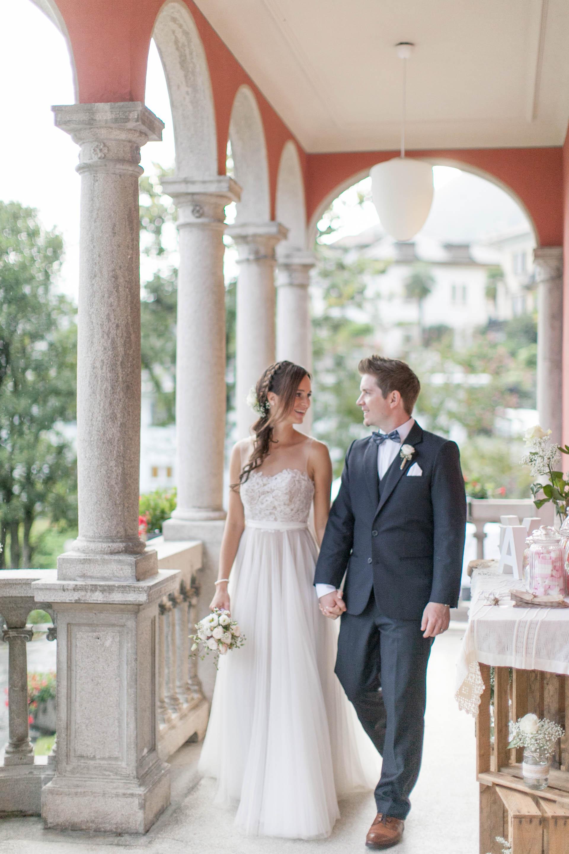 LittleCITY Valeria & Adi Hochzeit Villa San Quirico BHLDN Penelope