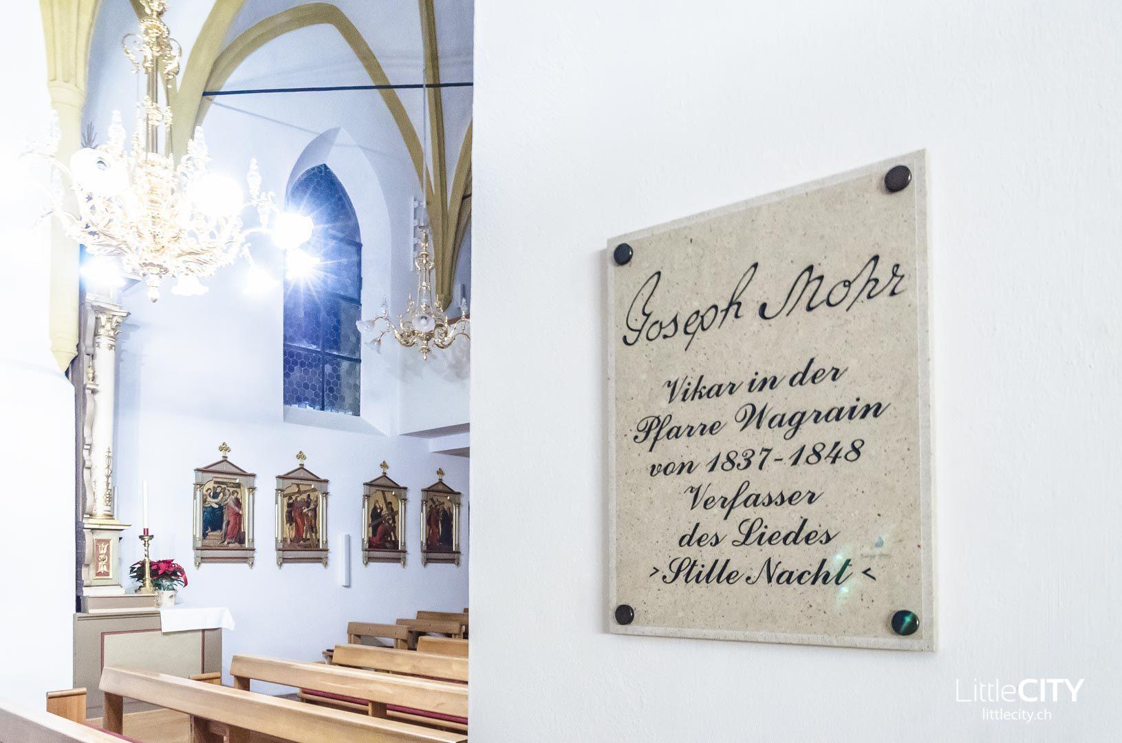Wagrain Stille Nacht Kirche Salzburger Land