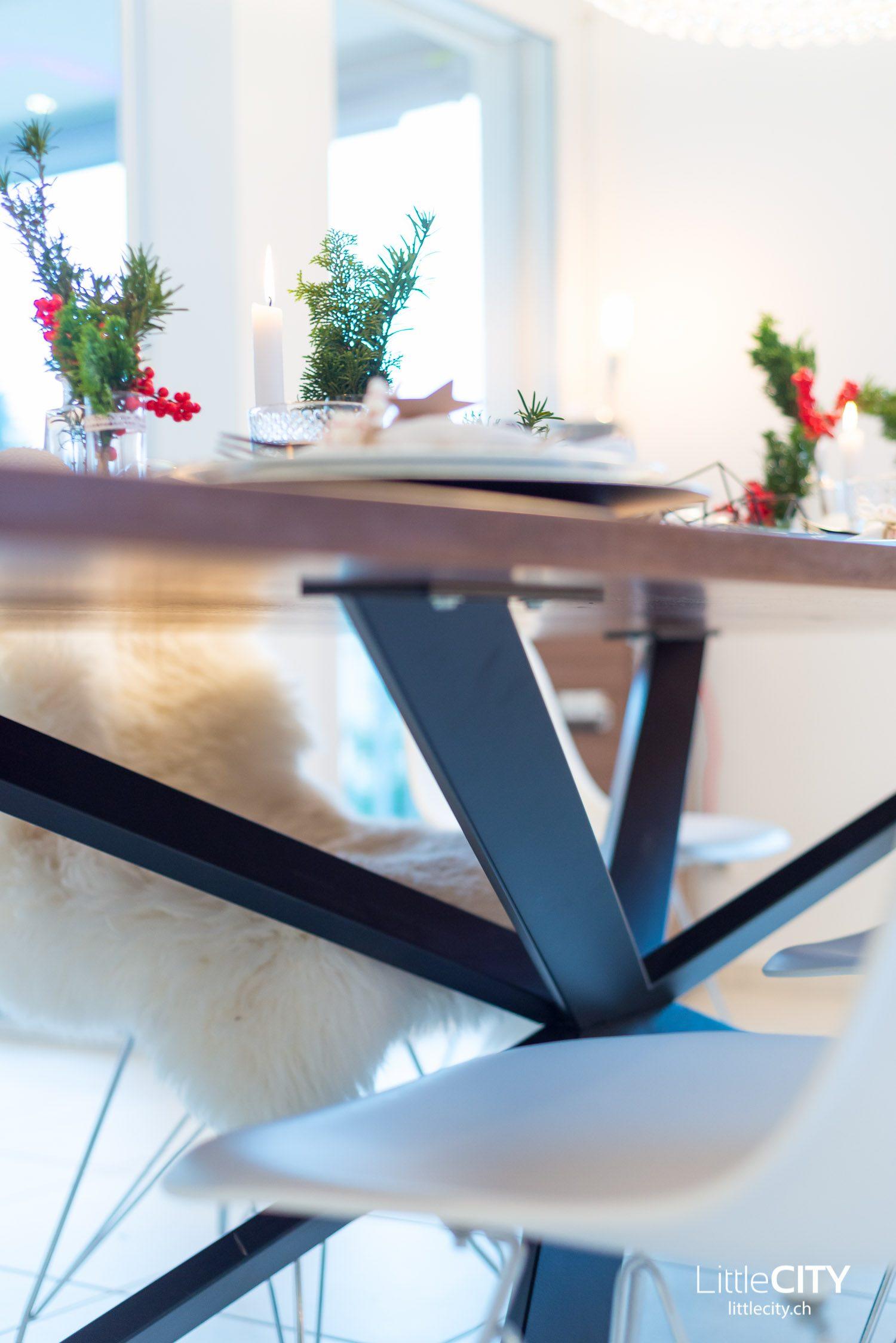 Weihnachts Tisch Deko Ideen Pfister