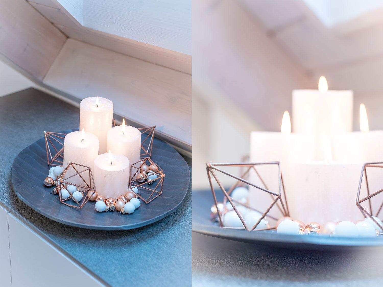 Weihnachts Tisch Dekoration Ideen