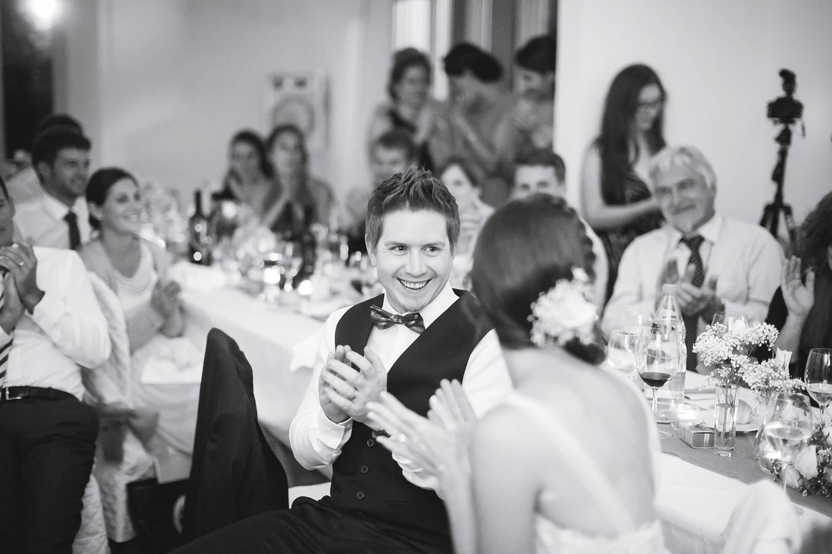 Hochzeitsfeier Abend The Wedding Day