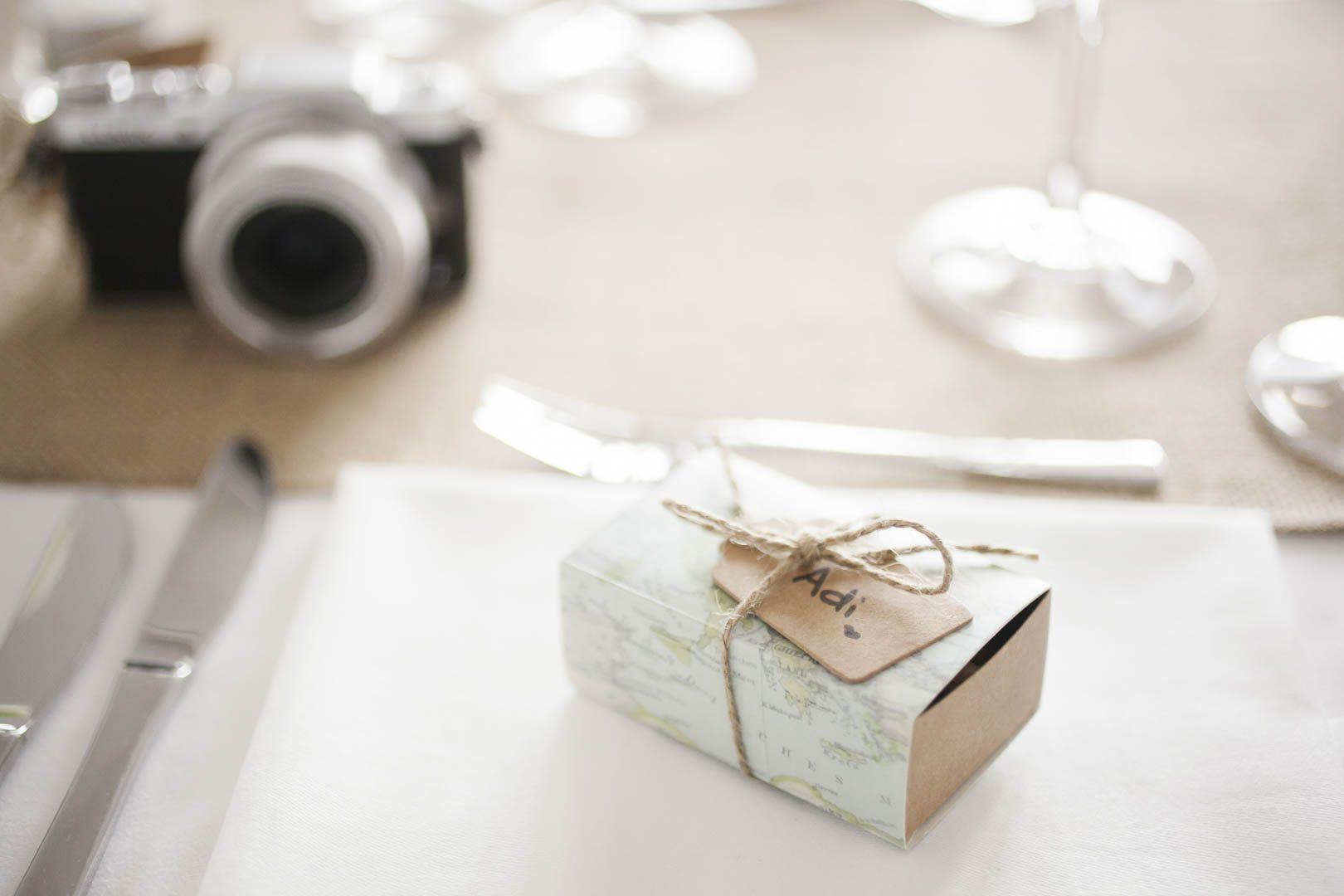 Hochzeitsfeier Gastgeschenke Schachtel mit Mandeln-434