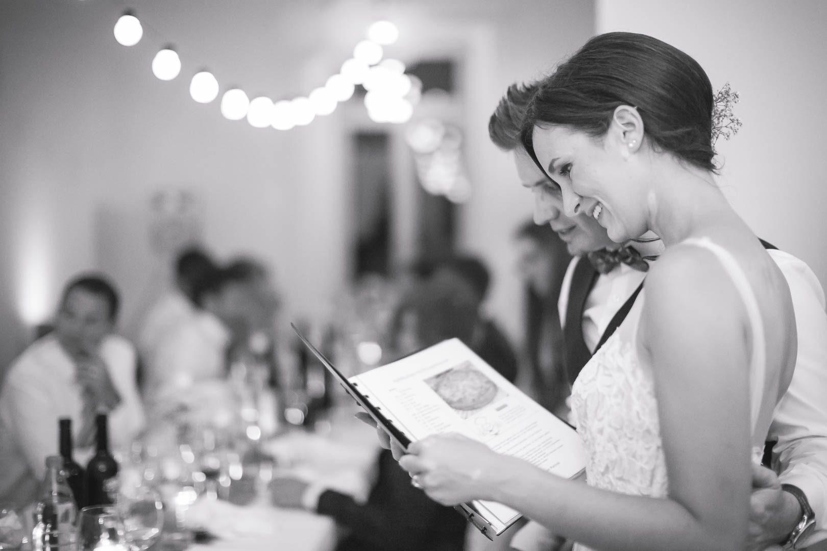 Hochzeitsgeschenk Rezeptbuch aller Gäste