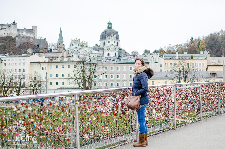 Salzburg Festung Hohensalzburg Festungsberg Brücke