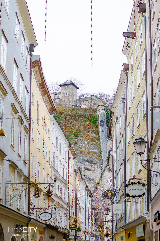 Salzburg Getreidegasse Altstadt Shopping