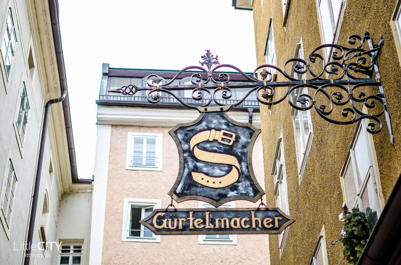 Salzburg Reisetipp Getreidegasse Altstadt Shopping