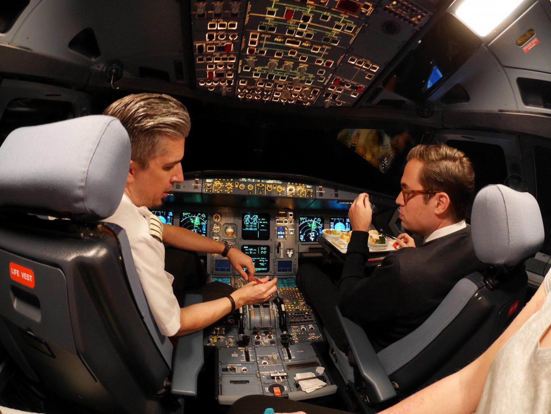 Edelweiss Cockpit Marrakesch Zürich