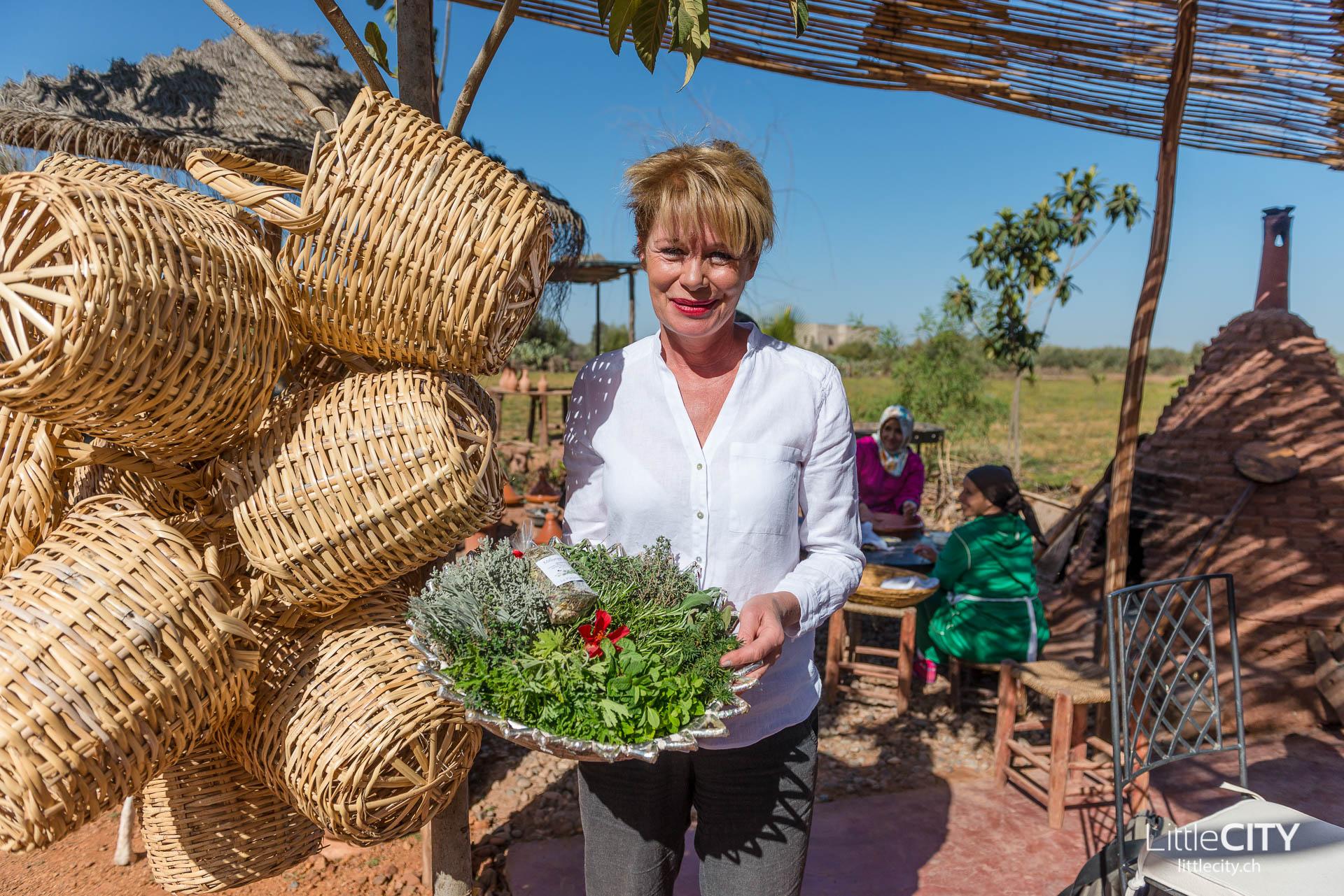 Marrakesch Christine Ferrari Paradis du Safran