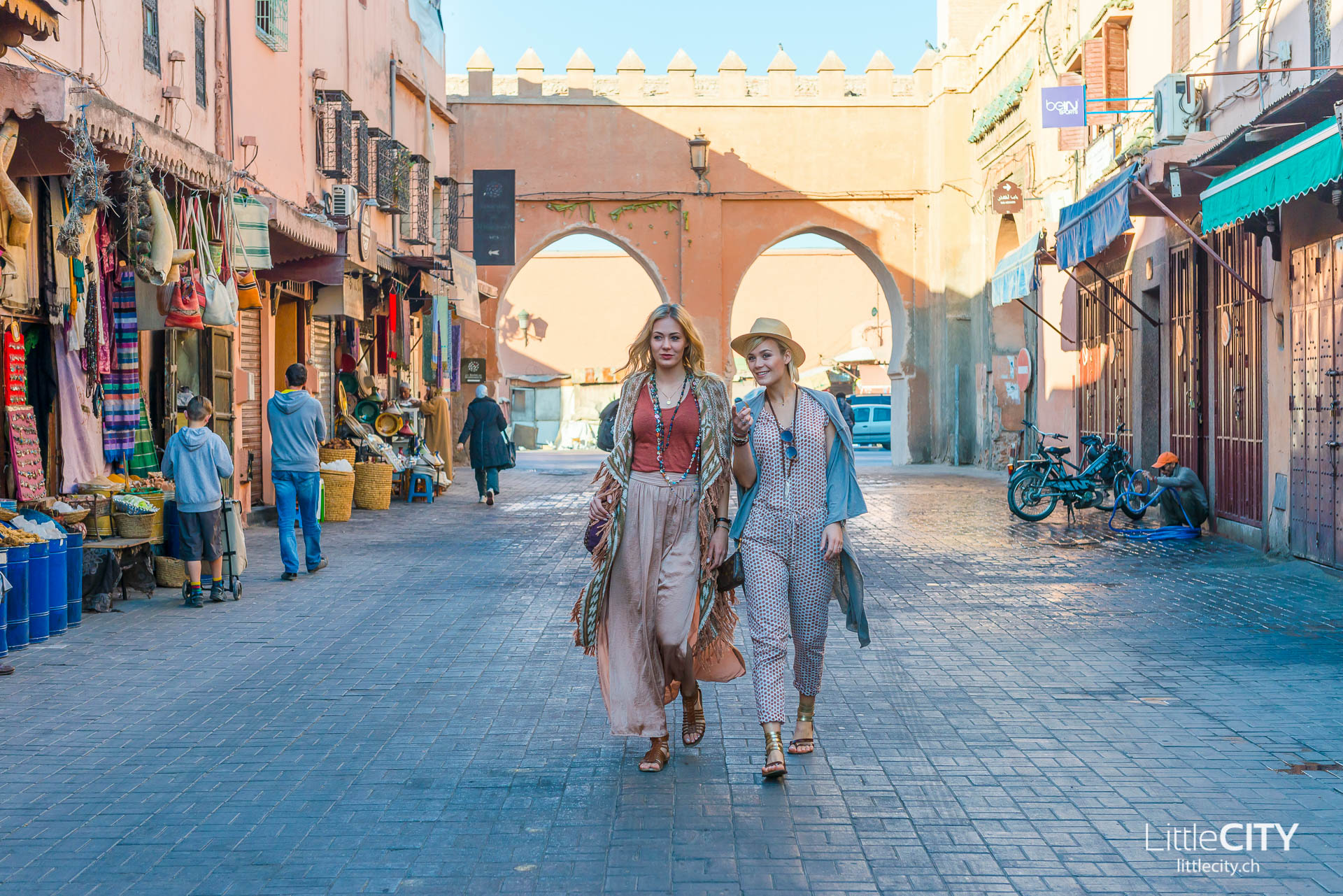 Marrakesch Dominique und Noemi Rinderknecht