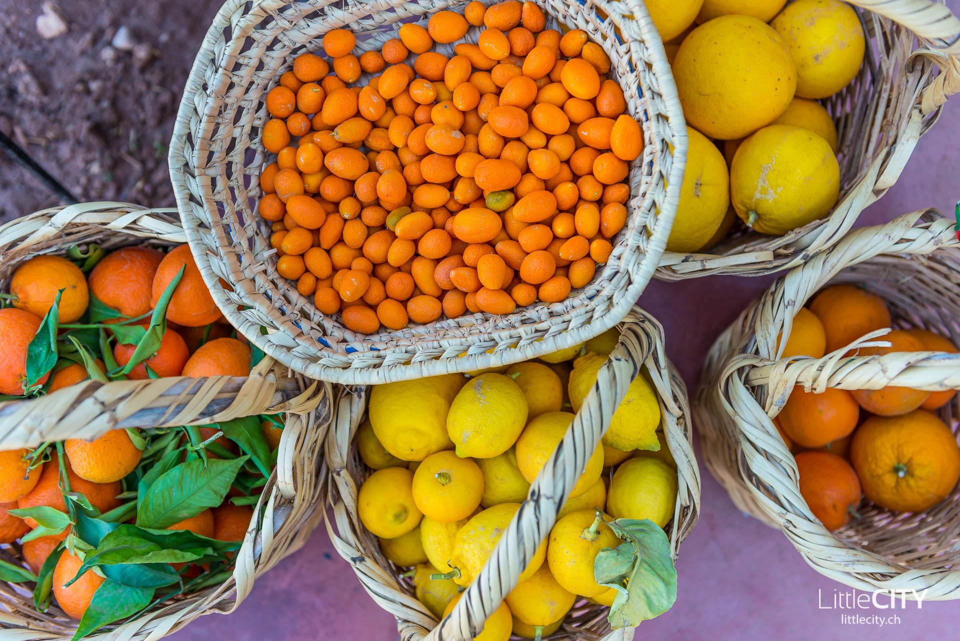 Marrakesch Früchte