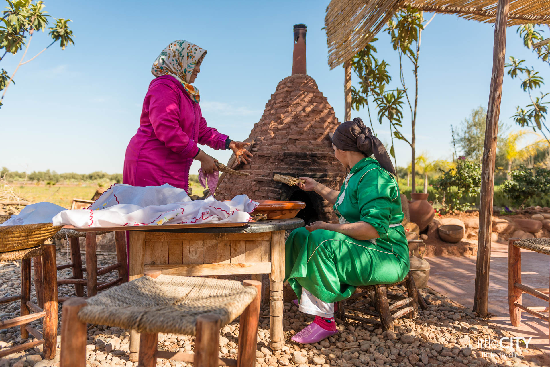 Marrakesch Paradis du Safran Brot
