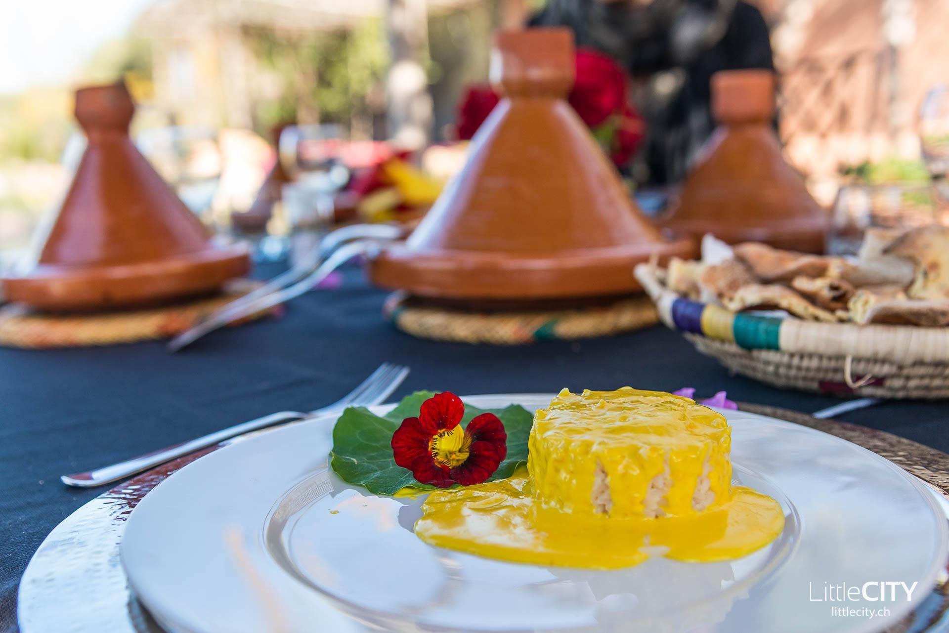 Marrakesch Paradis du Safran Reis