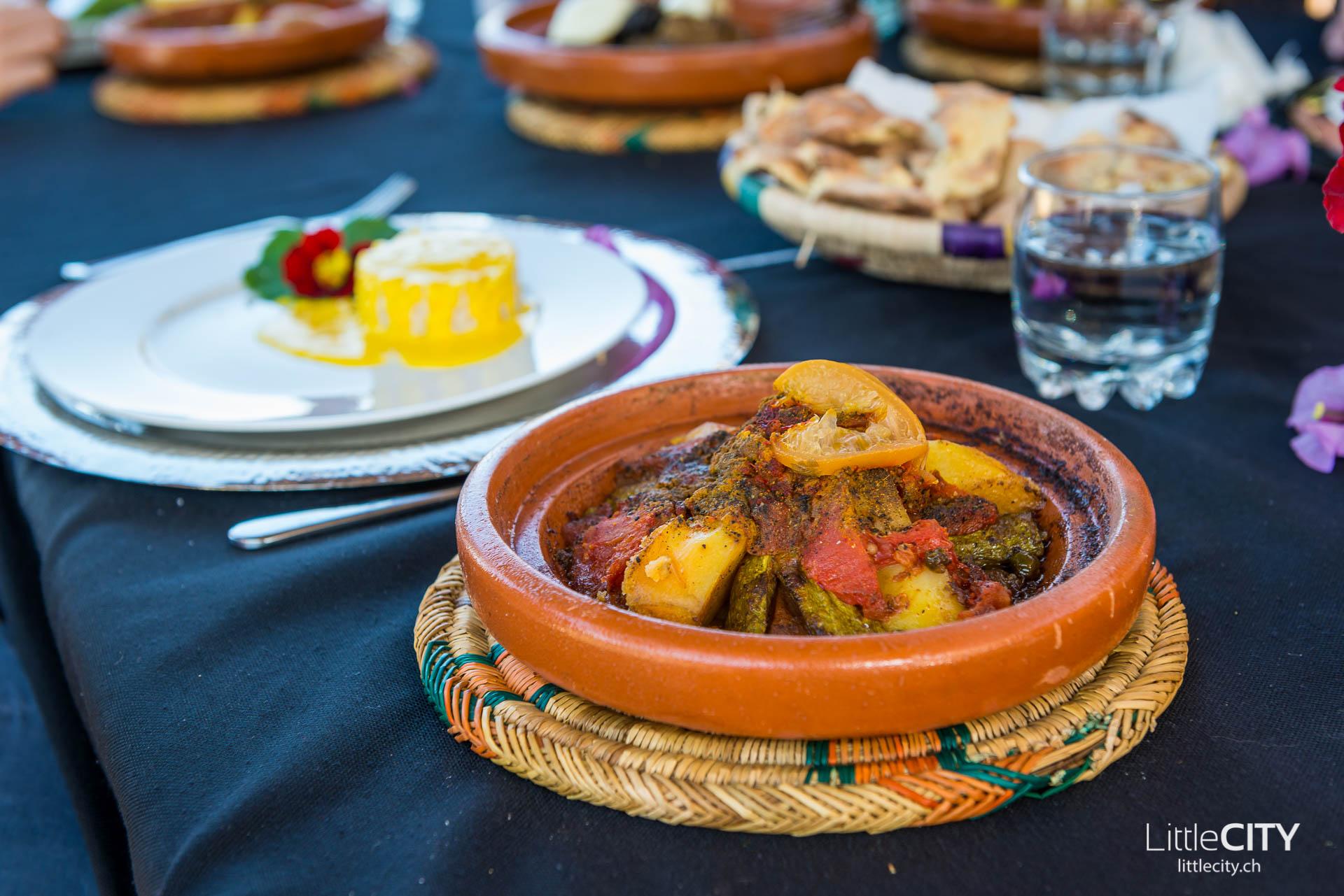 Marrakesch Tangine Paradis du Safran
