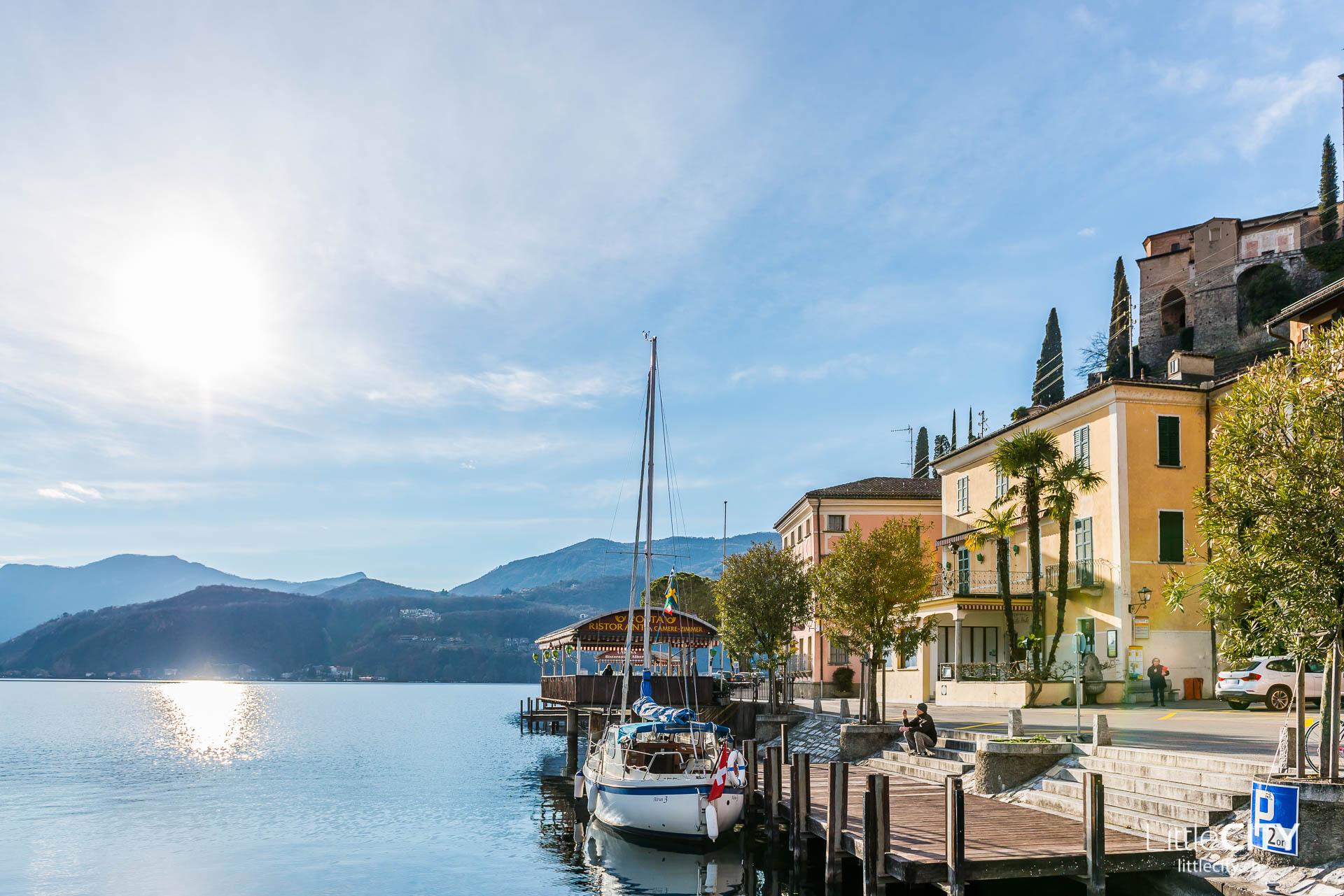 Tessin Sehenswürdigkeiten Morcote Lago di Lugano