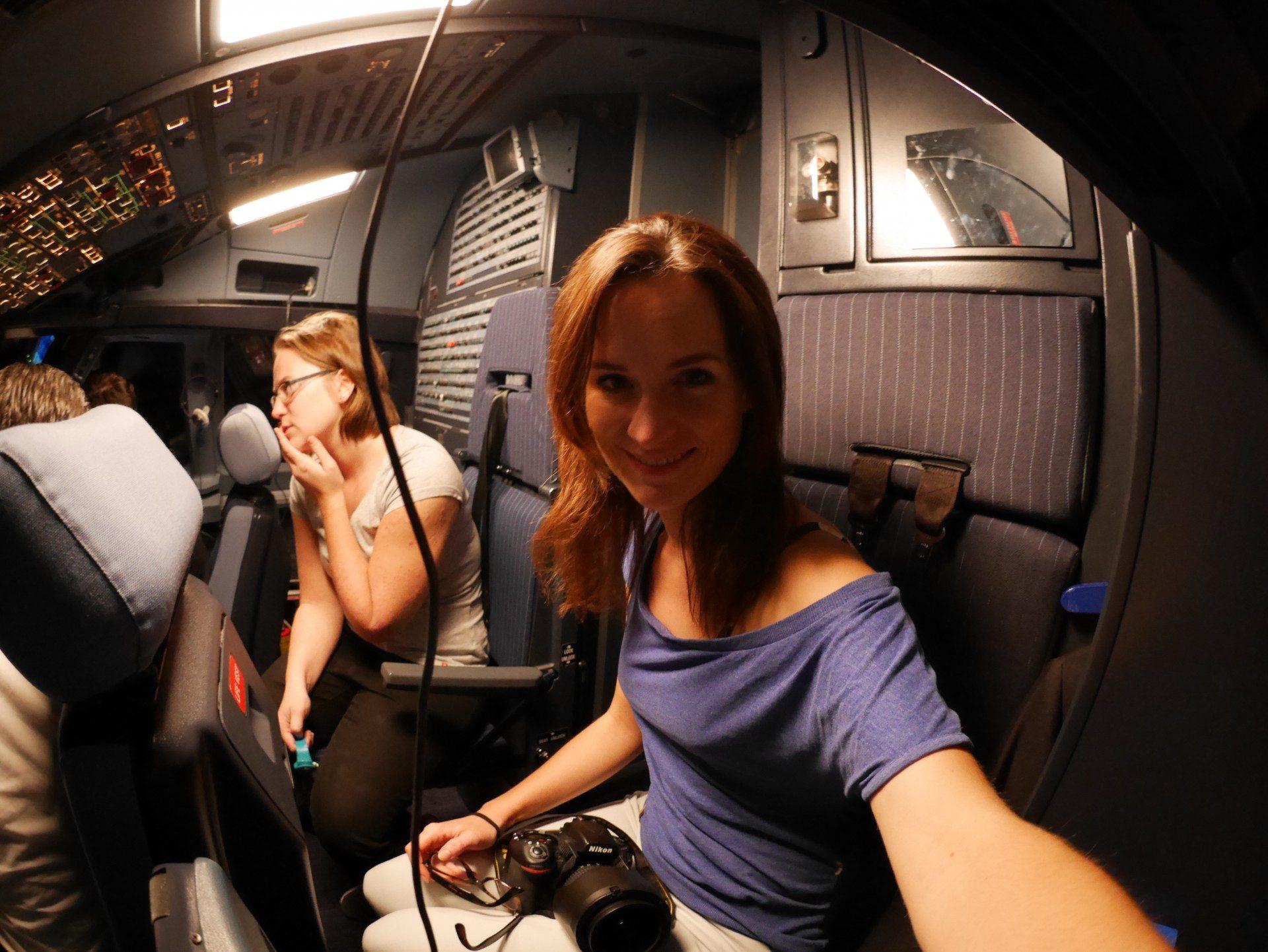Edelweiss Air im Cockpit